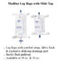 photo of Medline Leg Bags with Slide Tap
