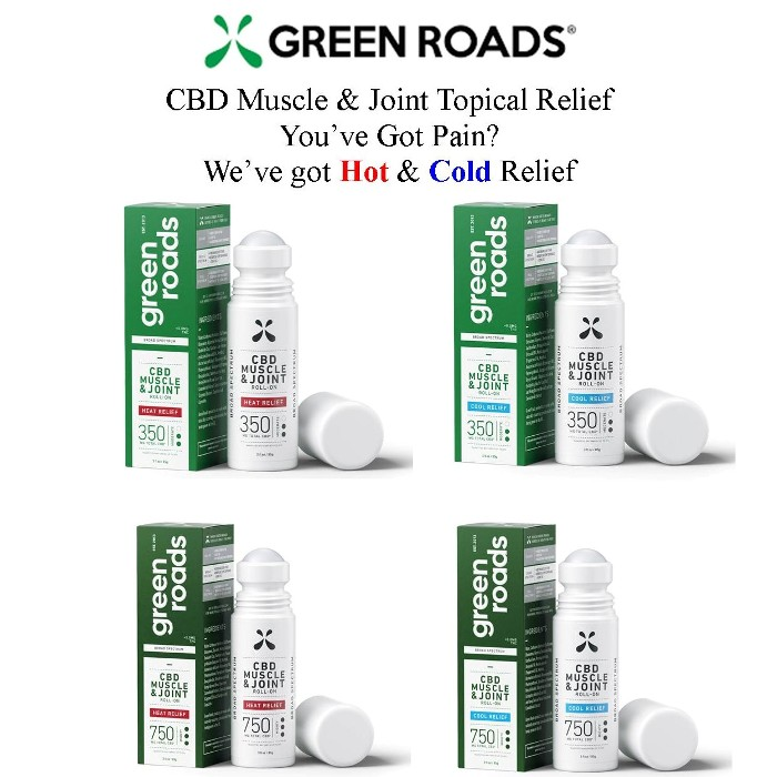photo of Green Roads CBD Joint & Muscle topical from Mountain View Medical Supply
