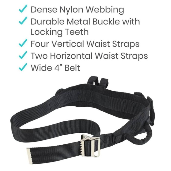 photo of Vive Health Gait Belt RHB1011N from Mountain View Medical Supply