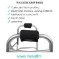 photo of Walker Grip Pads by Vive Health