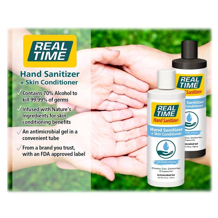 photo of Real Time Hand Sanitizer + Skin Conditioner