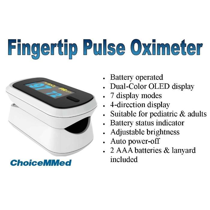photo of ChoiceMMed MD300CN310 Fingertip pulse Oximeter