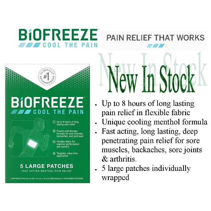 photo of Biofreeze Patches PER14672