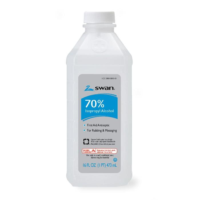 photo of Swan 70% Isopropyl Rubbing Alcohol VJO098003