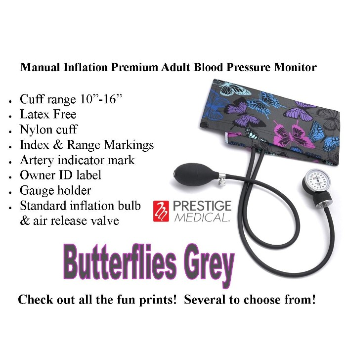 photo of Prestige Medical Manual Inflation Premium Adult Blood Pressure Monitor