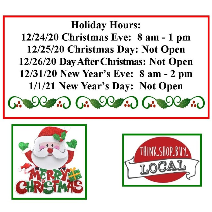 photo of Mountain View Medical Supply Christmas Hours