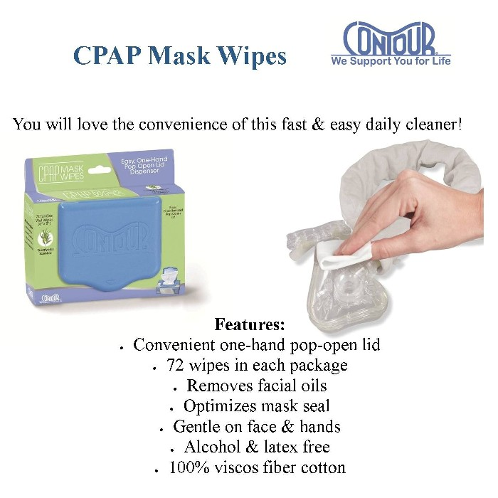 photo of CPAP Mask Wipes