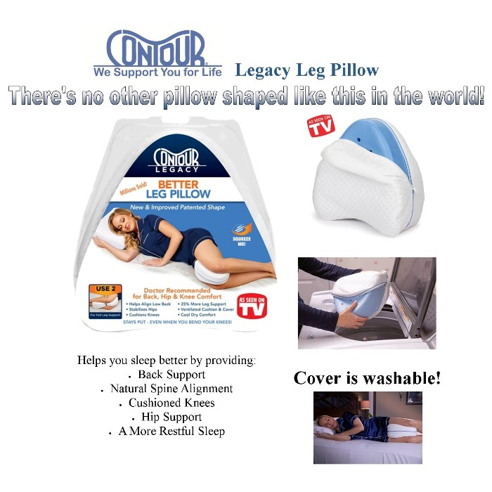 Contour Legacy Leg Pillow from Mountain View Medical Supply