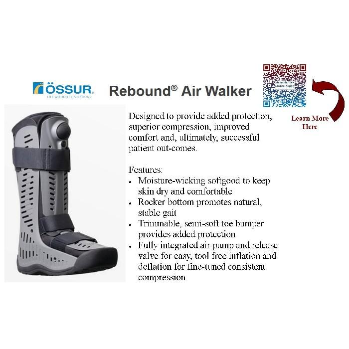 photo of Ossur Rebound Air Walker Standard High Height B-242900003 & B-242900004