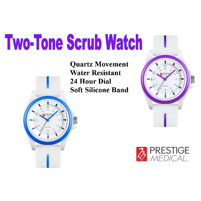 Prestige Medical Two Tone Scrub Watch from Mountain View Medical Supply