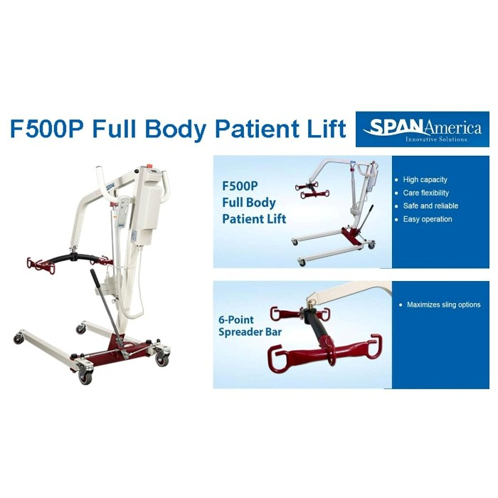 Span America F500P Full Body Patient Lift from Mountain View Medical Supply