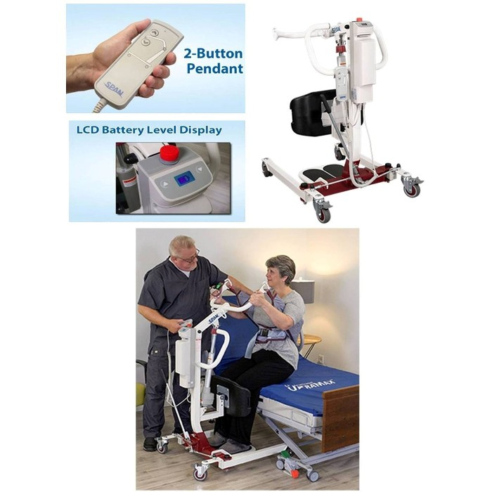 Span America F500S Sit-To-Stand Patient Lift at Mountain View Medical Supply