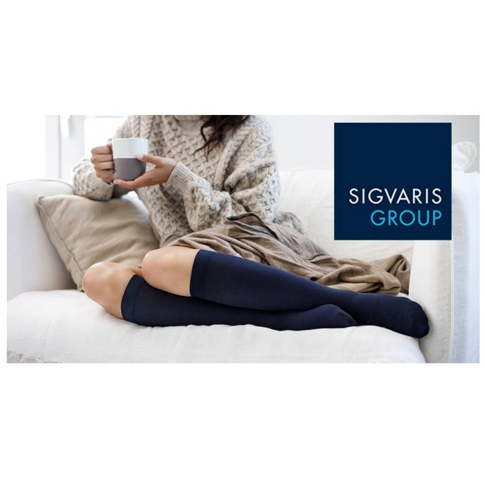 photo of Sigvaris Compression socks in use from Mountain View Medical Supply