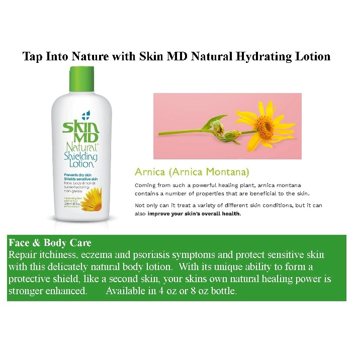 Skin MD Natural Hydrating Lotion from Mountain View Medical Supply
