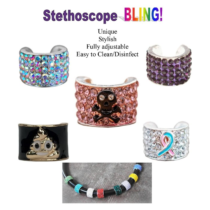 photo of Stethoscope Charms from Mountain View Medical Supply