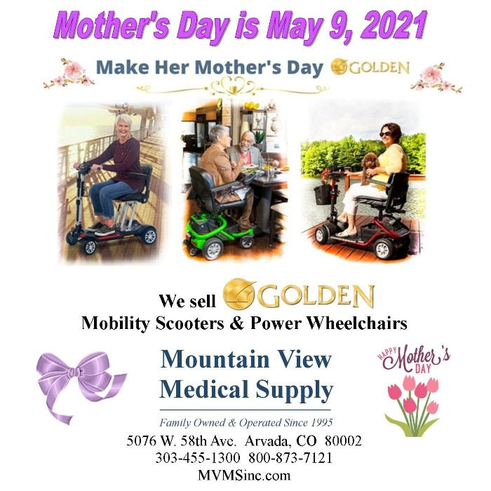 photo of Golden Technologies Power Wheelchair and scooters from Mountain View Medical Supply