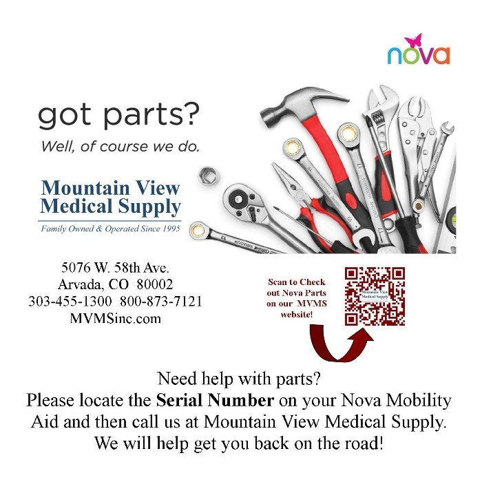 photo of Nova Got Parts? from Mountain View Medical Supply