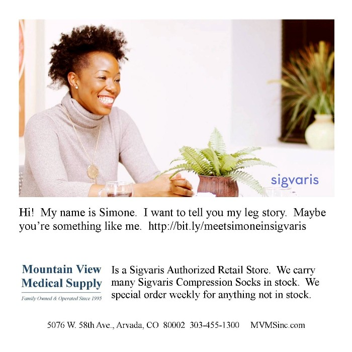 Sigvaris Compression Socks Simone's Story Buy Sigvaris Compression socks at Mountain View Medical Supply