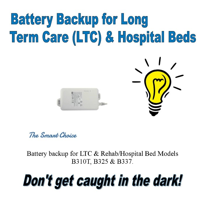 photo of Battery Backup for LTC Hospital Beds BPB300 from Mountain View Medical Supply