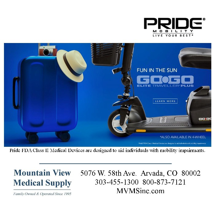 Pride Go-Go Elite Traveller Plus Scooter SC53 from Mountain View Medical Supply