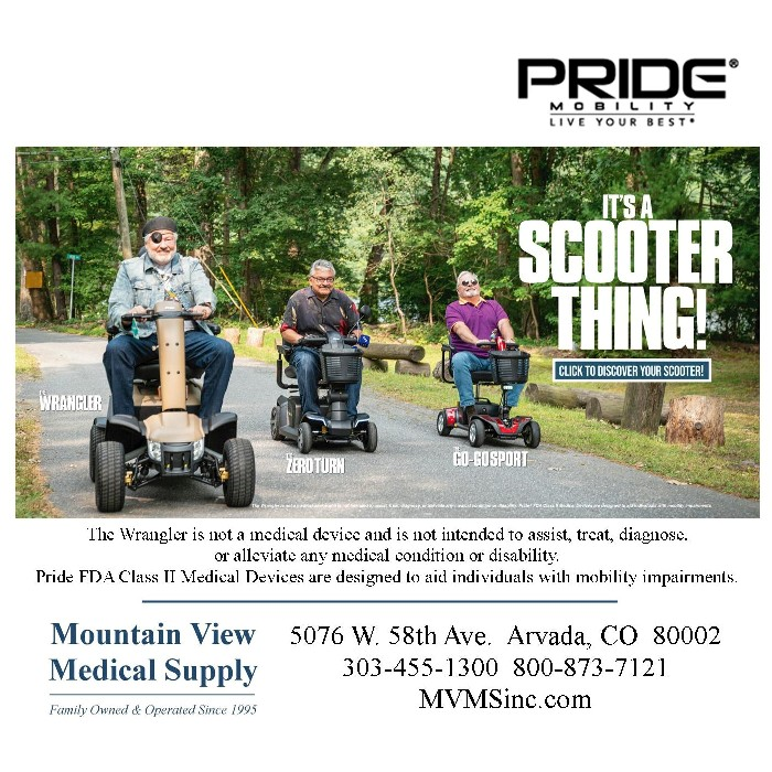Pride Mobility Wrangler, Go-Go Sport & Zero Turn Scooters from Mountain View Medical Supply