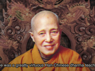 Disciple of H H Dorje Chang Buddha III----Venerable Dharma Teacher Qing Ding