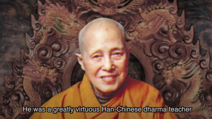 Disciple of H H Dorje Chang Buddha III----Venerable Dharma Teacher Qing Ding