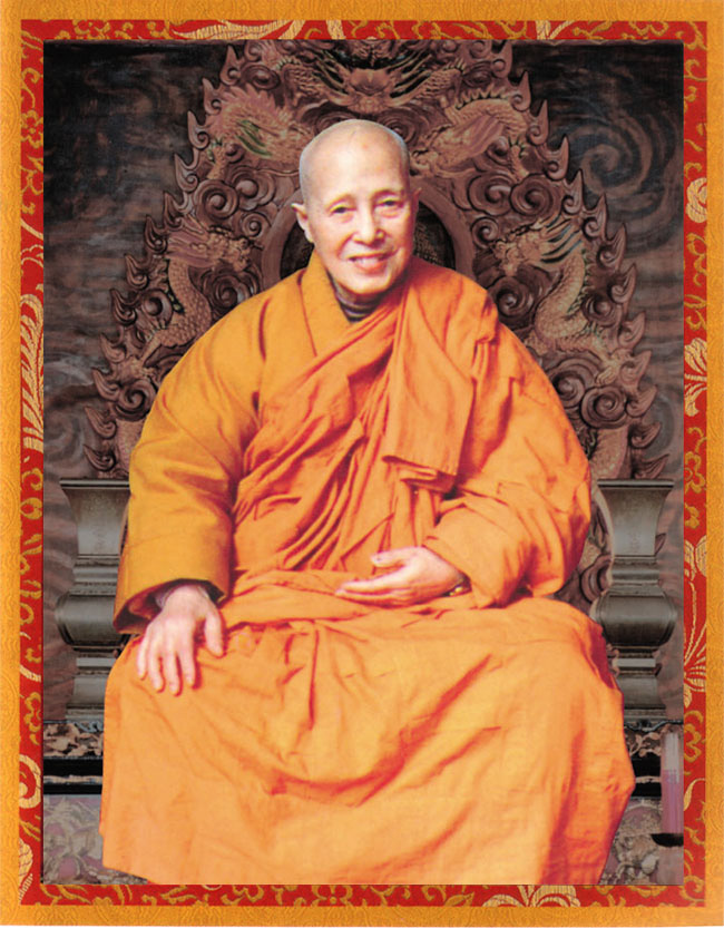 Disciple of H.H. Dorje Chang Buddha III -- Venerable Dharma Teacher Qing Ding