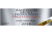 America's Most Honored Professionals 2018