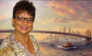 Nancy Vasquez, mother of Stephanie Dizon is very proud of her daughter's professional accomplishments. (Photo: Karen León)