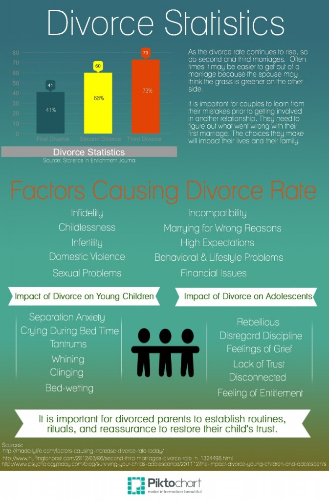 Divorce Statistics Infographic