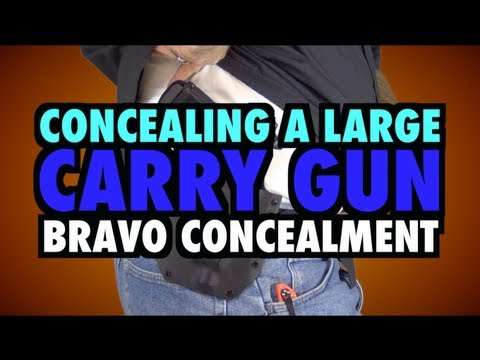 Concealing a Large Handgun - Bravo Concealment Patriot