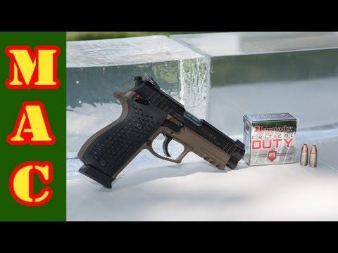 Critical Duty 9mm Penetration Test