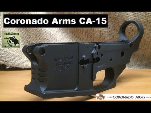 Coronado Arms CA-15 Billet Lower AR-15
