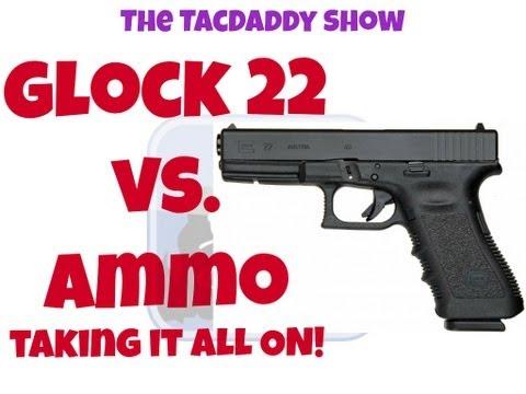Glock 22 vs Ammo - Taking It All On