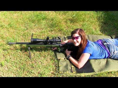 Precision Rifle Training for Destinee