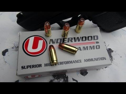 Underwood 9mm 115 gr +P+ JHP Ammo Test