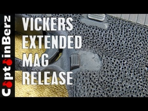 Vickers Tactical Extended Mag Release for Glock