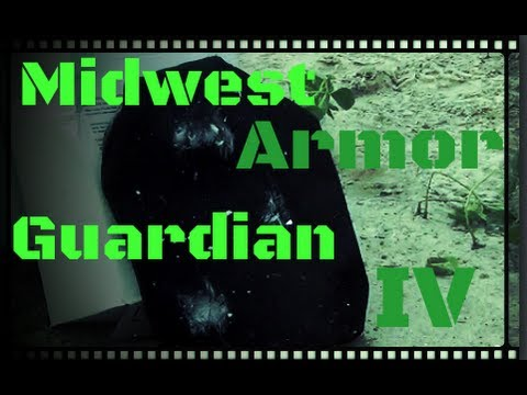 Body Armor Testing - Midwest Armor Guardian IV Stand Alone Level IV Rifle Plate