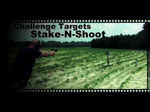 Challenge Targets Stake-N-Shoot Steel Target Review