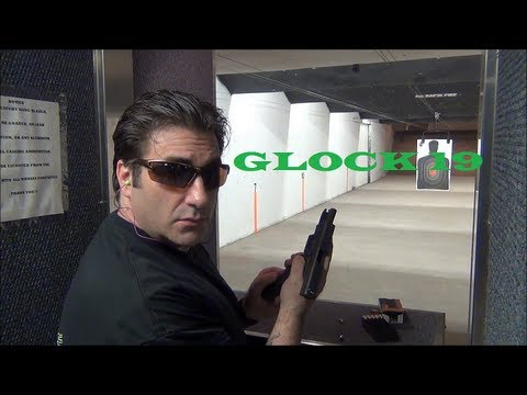Glock 19 at the Range