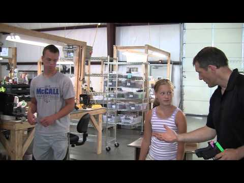 NextLevel Training Factory Tour - SIRT Training Pistols