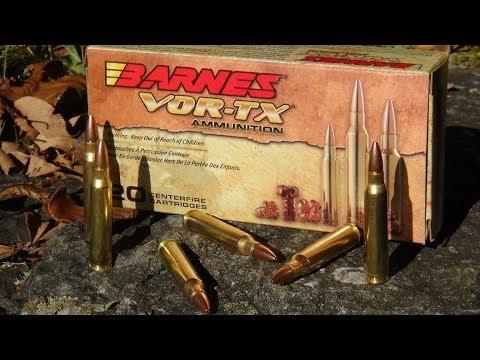 Ammo Review - .223 Barnes VOR-TX 55 gr TSX