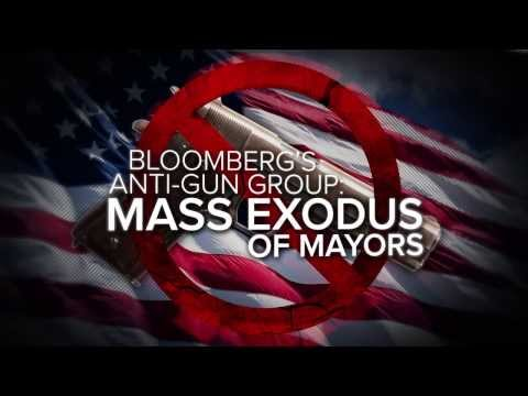 Bloomberg's Anti-Gun Group - Mass Exodus of Mayors
