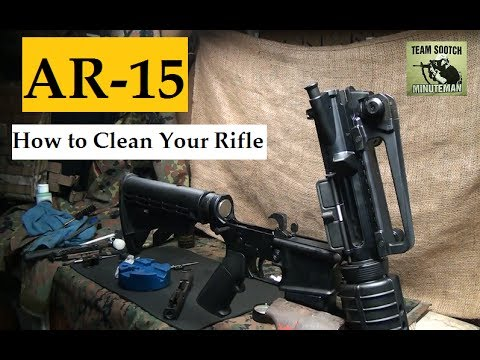 Cleaning the AR15 Rifle