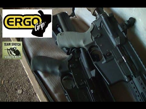 Ergo AR-15 Pistol Grip Review