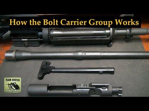 How the AR-15 Bolt Carrier Group Works