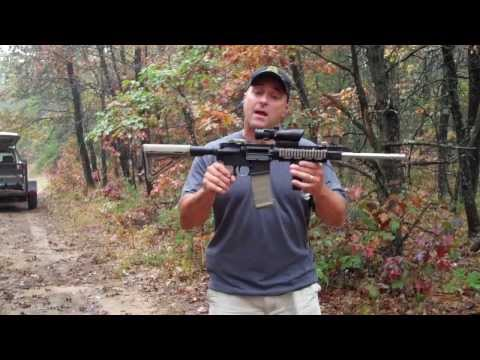 Shooting a Budget AR Rifle