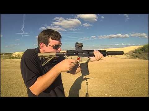 Slow Motion Adams Arms Piston SBR