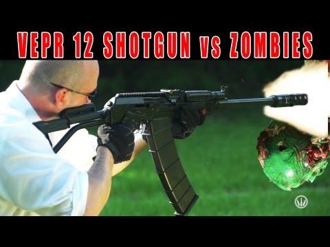 VEPR 12 Shotgun vs Zombie